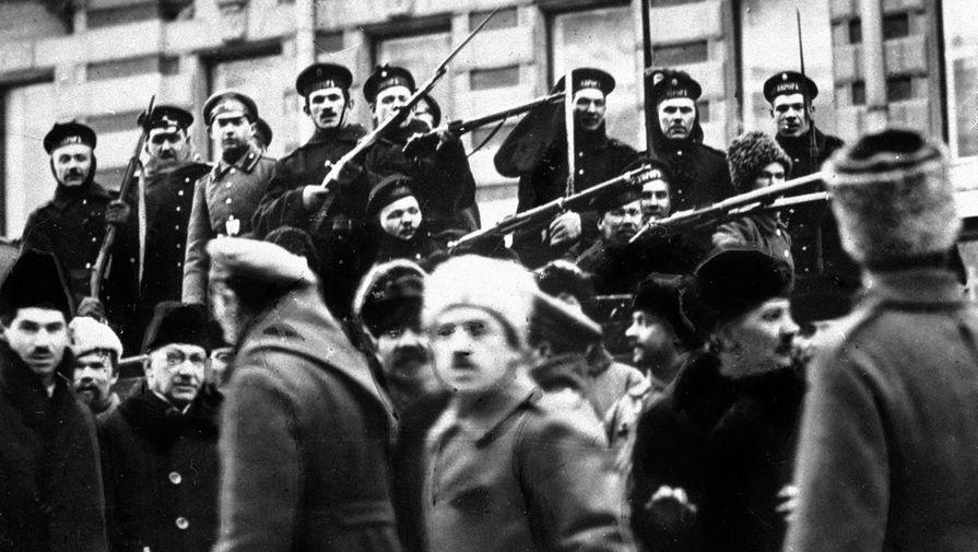 'Россия 24' показала 14-ю серию фильма митрополита Тихона о февральской революции