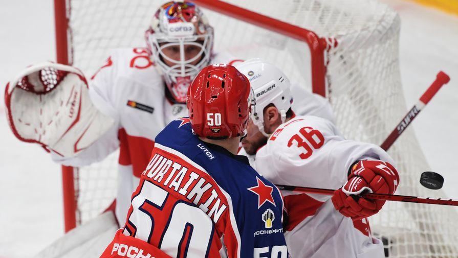Определились первые пары плей-офф КХЛ