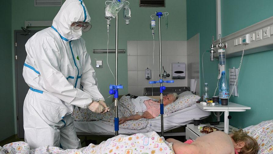 В Москве за сутки госпитализировали 736 человек с коронавирусом
