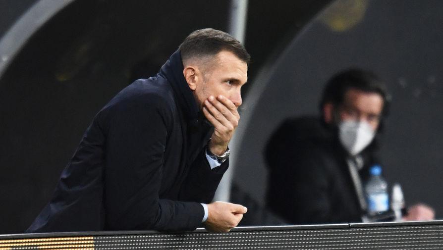 Шевченко остался доволен игрой сборной Украины в игре с Нидерландами