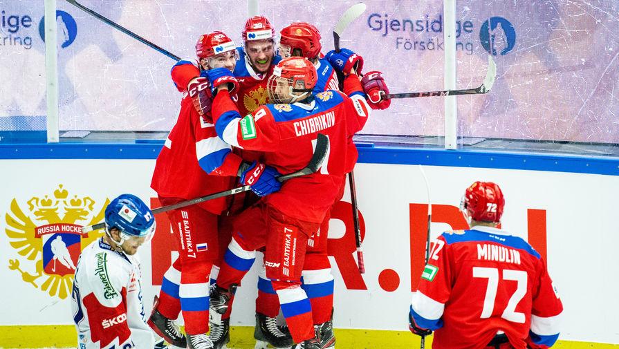 Стал известен состав сборной России на матч против Белоруссии