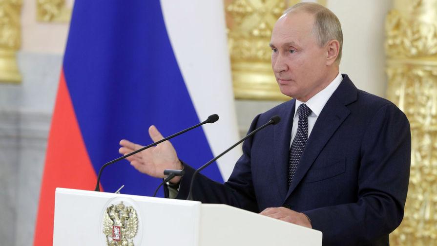 Путин заявил, что армия России должна быть компактной, но эффективной