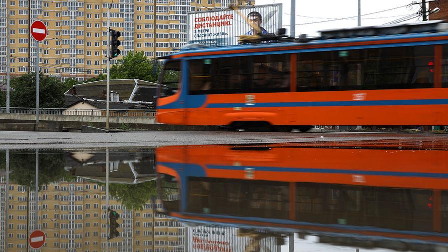 В Казани остановили движение трамваев и троллейбусов после ливней