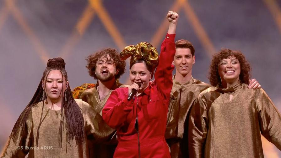 Российская певица Манижа выступила в финале 'Евровидения'