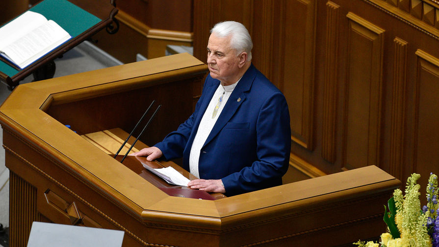 Кравчук рассказал об угрозе выхода РФ из соглашения о перемирии в Донбассе