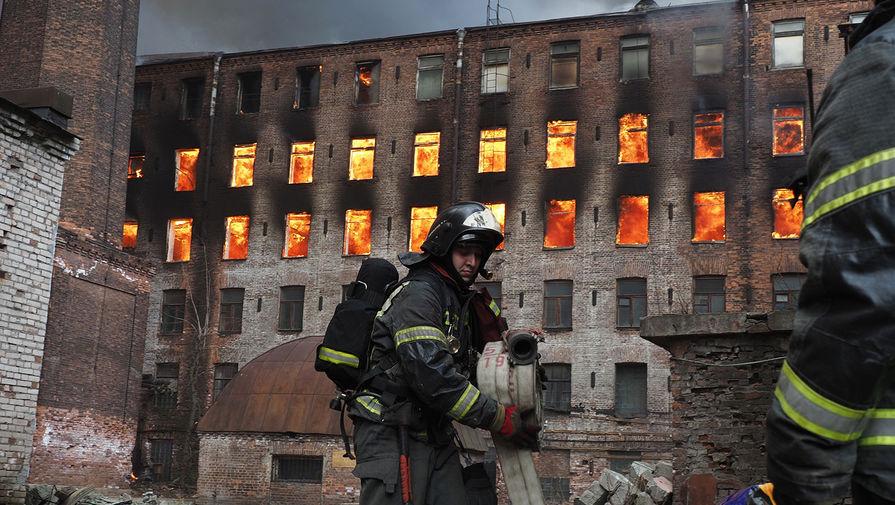 Беглов выступил за восстановление сгоревшей 'Невской мануфактуры'