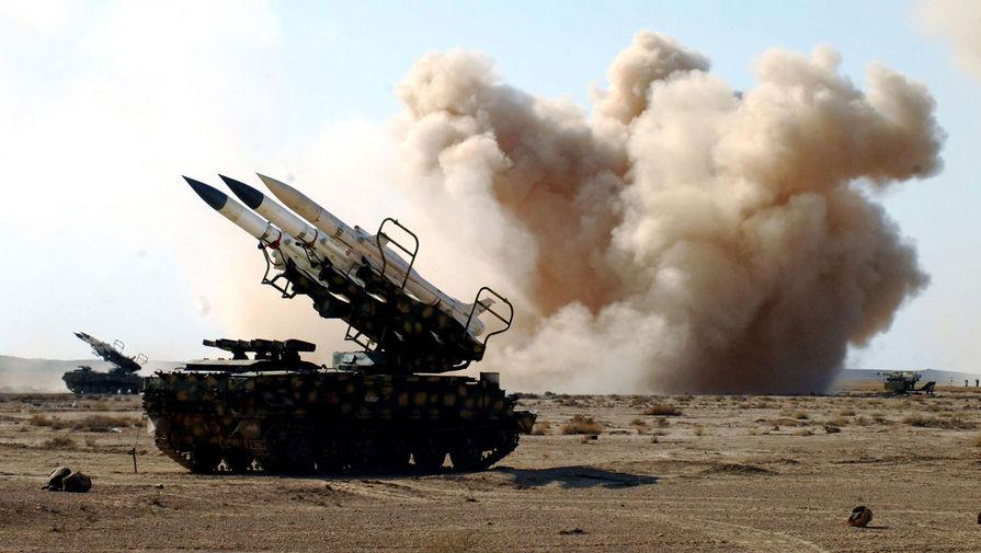 Сирия отражает атаку Израиля в небе над Дамаском