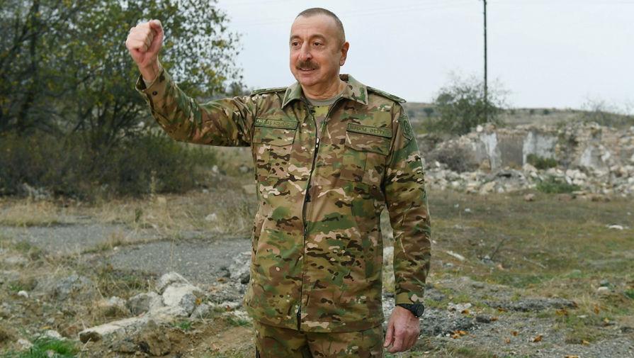 Алиев: Баку готов подписать мирное соглашение по Карабаху, но Ереван молчит