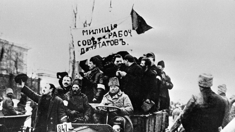 'Россия 24' показала 13-ю серию фильма митрополита Тихона о февральской революции