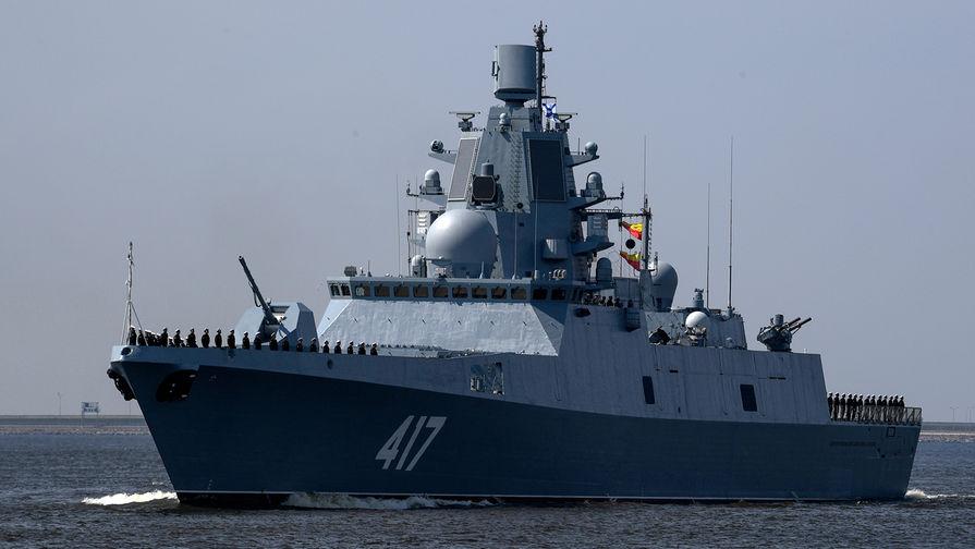 Фрегат 'Адмирал Горшков' испытает новое ракетное оружие в Белом море