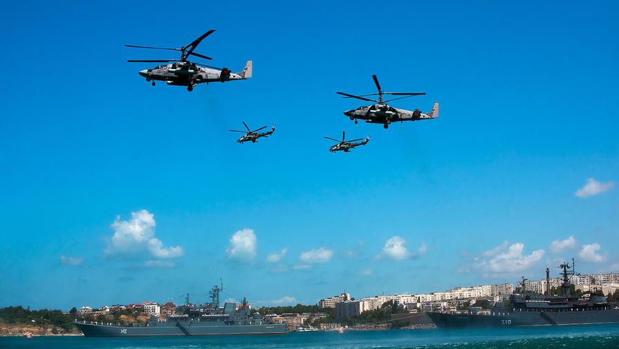 На Балтфлоте начались учения с вертолетным полком морской авиации