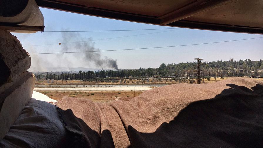 Четыре мирных жителя получили ранения после атаки боевиков в Сирии