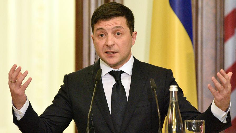 Зеленский счел неактуальным вопрос о языке на Украине