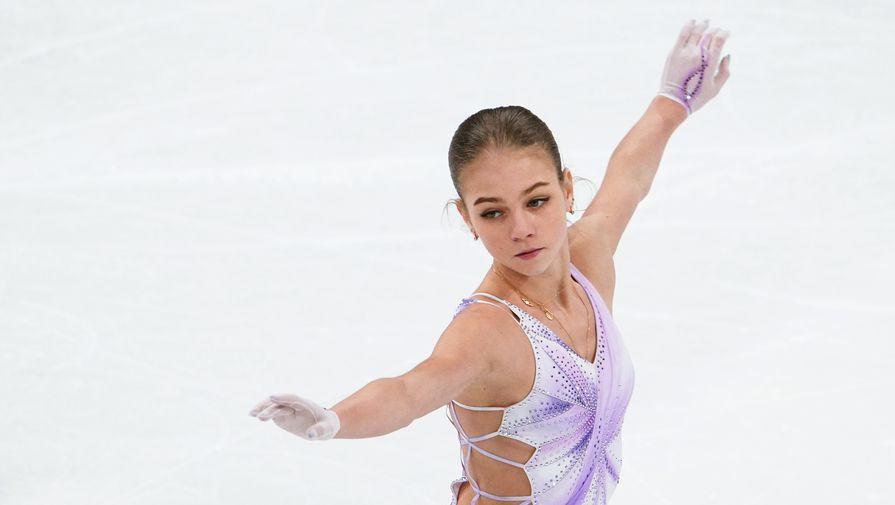 Трусова попыталась исполнить три четверных прыжка на тренировке