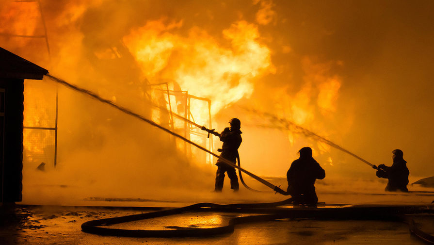 Под Владимиром три человека погибли при пожаре