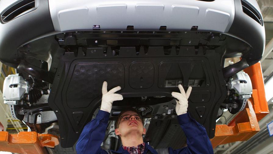 Завод Volkswagen в Нижнем Новгороде остановлен