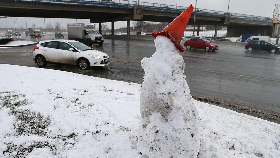 В Москве в четверг ожидается до 1С и мокрый снег