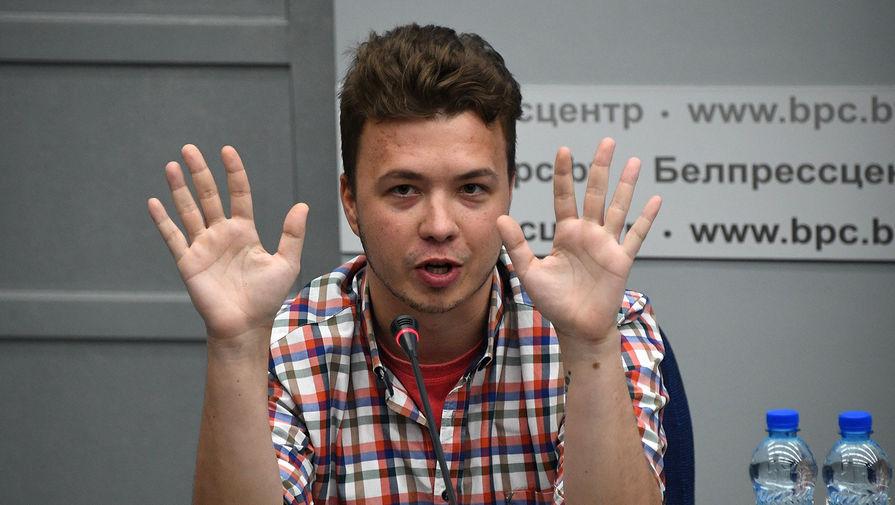 Арестованный Протасевич объяснил раны на руках