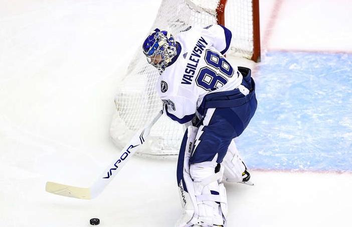 Василевский прервал серию из 12 побед подряд в НХЛ