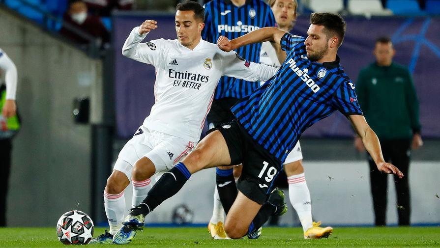 'Реал' обыграл 'Аталанту' в ответном матче 1/8 финала Лиги чемпионов