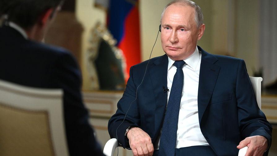 Путин рассказал о cроках возвращения послов РФ и США в Москву и Вашингтон