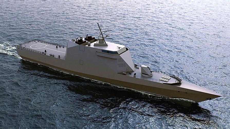 Первый полноценный 'стелс'-корабль построят в России
