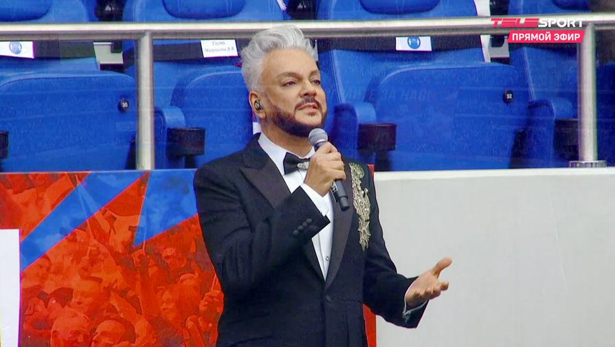 Черчесов: Киркоров перепутал игроков сборной, но его спутать невозможно