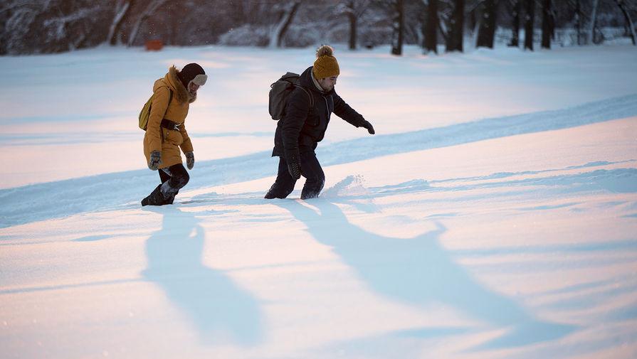 Украинец попытался спрятаться от полиции, зарывшись в снег