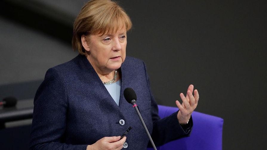 Меркель рассказала, что в последний раз выступает в должности канцлера