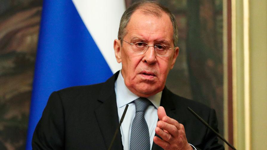 Лавров заявил, что Европа углубляет окопы в отношениях с Россией