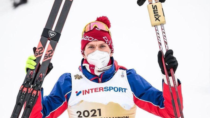 Лыжник Большунов рассказал о ходе победного старта на ЧМ-2021