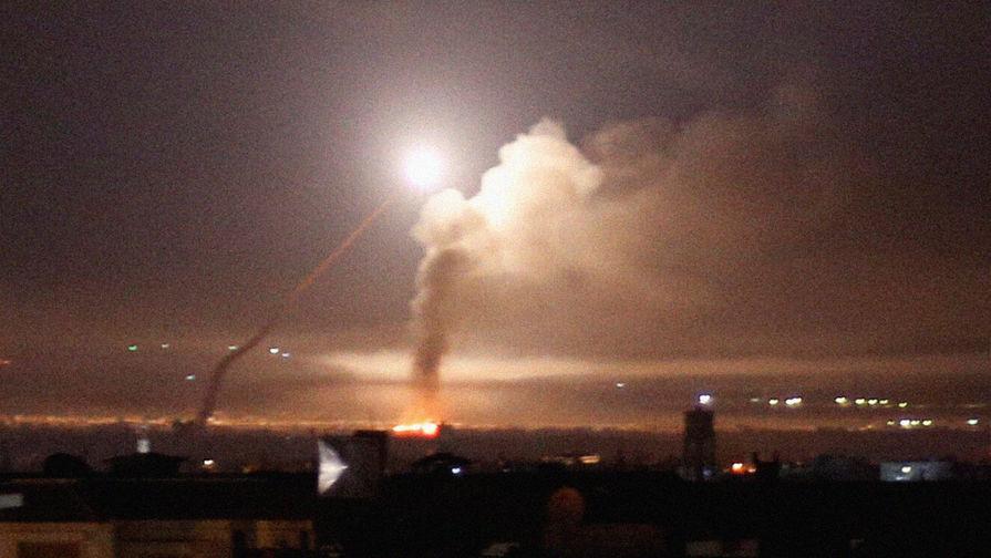 SANA: сирийские ПВО отражают атаку Израиля к югу от Дамаска