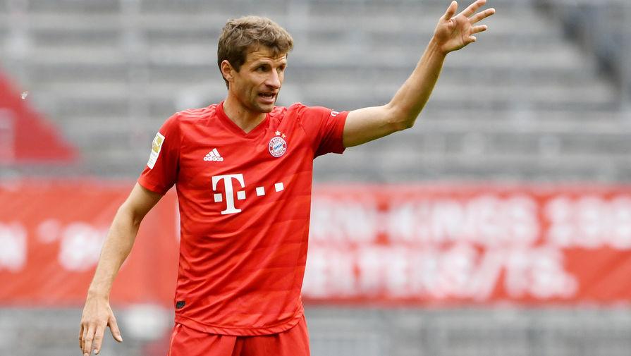 Футболист 'Баварии' Мюллер опечален вылетом клуба из Лиги чемпионов