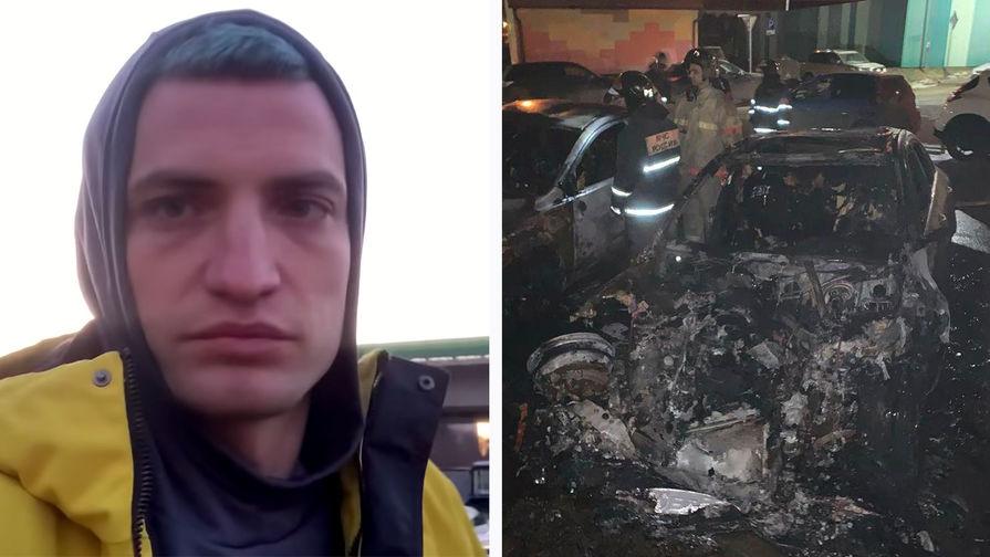 Губерниев отреагировал на поджог машины журналиста Дмитрия Егорова