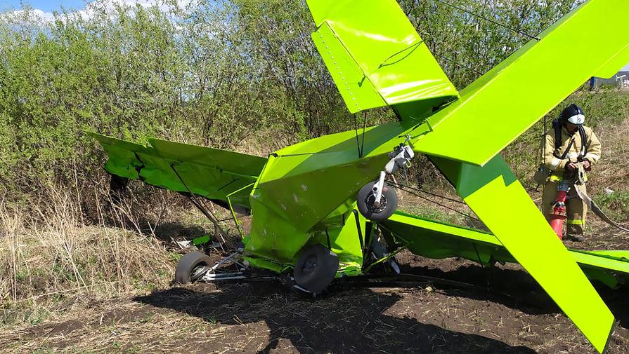 СК: упавший в Татарстане самолет вылетел без разрешения