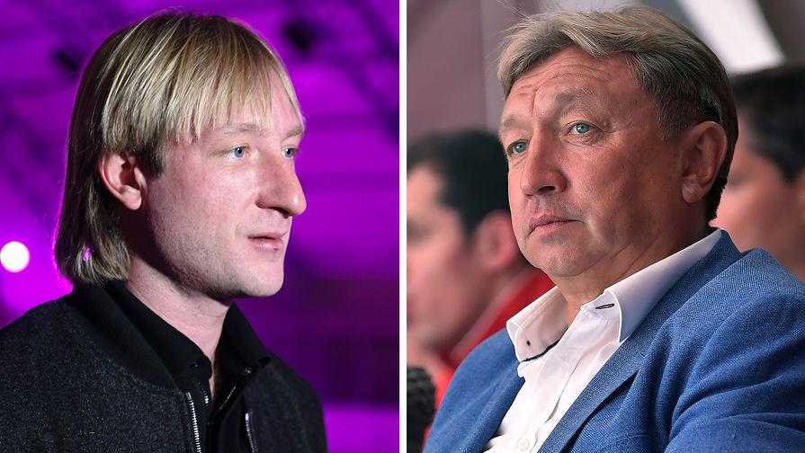 Глава 'Самбо-70' назвал 'ерундой' вызов Плющенко на дуэль хореографом Тутберидзе