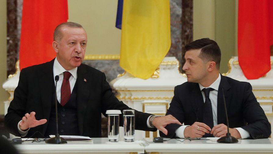 В Кремле прокомментировали встречу Зеленского и Эрдогана
