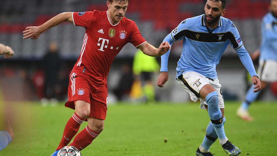 'Бавария' обыграла 'Лацио' в ответной игре 1/8 финала Лиги чемпионов