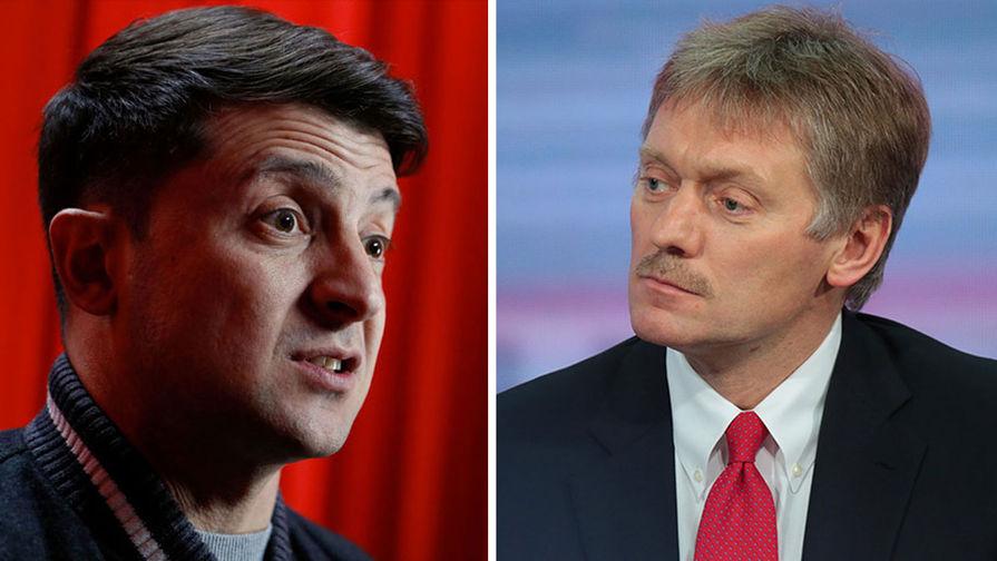 Песков оценил заявление Зеленского об отмене минского формата