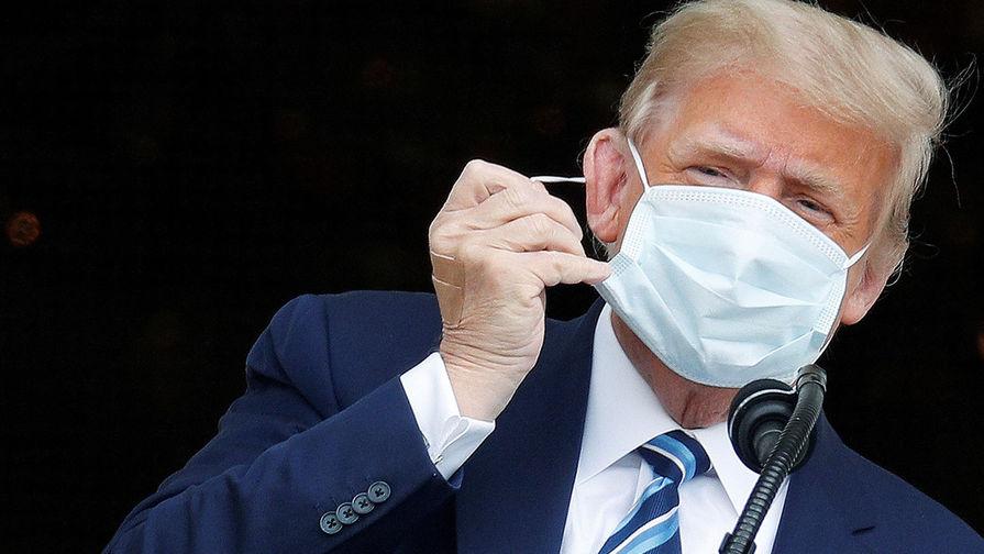 NYT: Трампа хотели поместить на ИВЛ из-за коронавируса