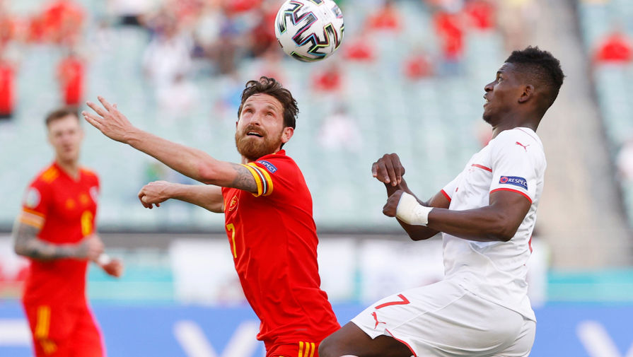 Швейцария сыграла вничью с Уэльсом в матче Евро-2020
