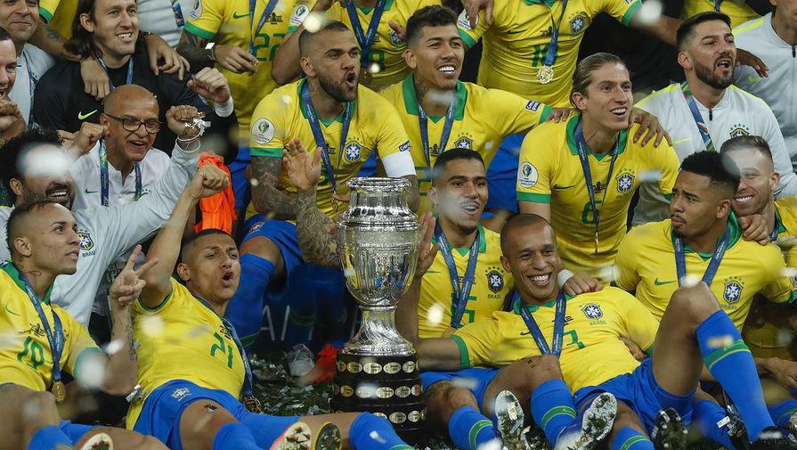 СМИ: футболисты сборной Бразилии отказались участвовать в Кубке Америки
