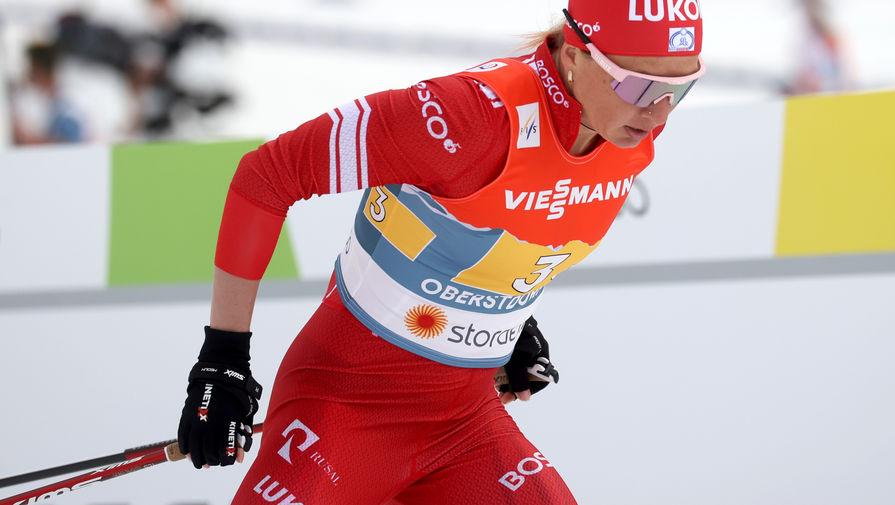 Тюменская область выиграла эстафету на чемпионате России по лыжным гонкам