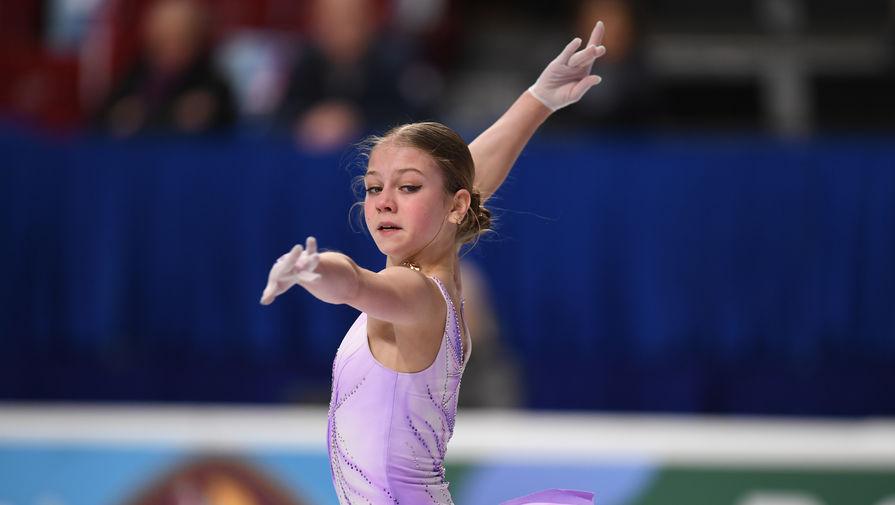 Трусова рассказала о своей цели на ЧМ 2021 года