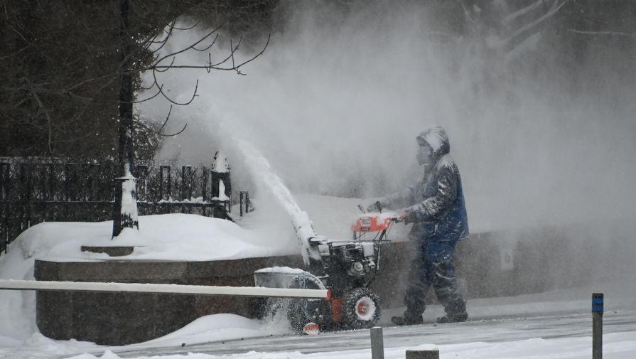 В Москве в субботу ожидается до -12С и сильный снег