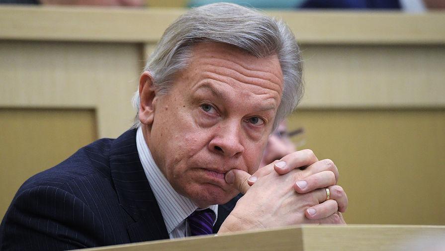 Пушков оценил заявление США о гарантиях Киеву при конфликте с Россией