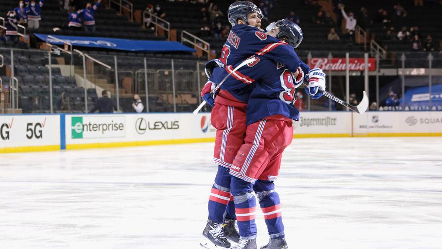 'Нью-Йорк Рейнджерс' победил 'Баффало Сейберс' в матче НХЛ
