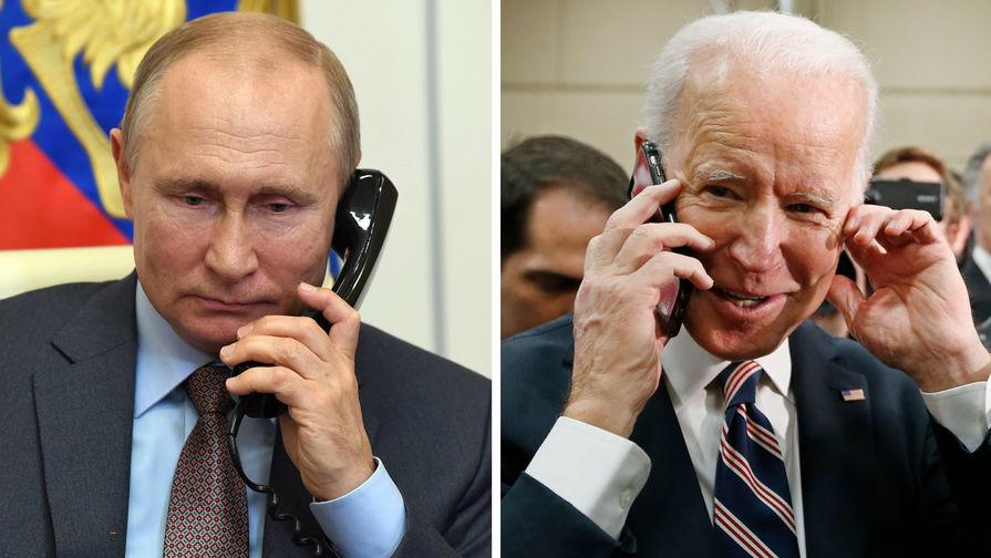 Байден назвал разговор с Путиным откровенным и уважительным