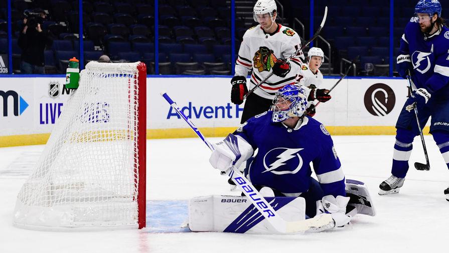 Голкипер 'Тампы' Василевский установил уникальный рекорд НХЛ