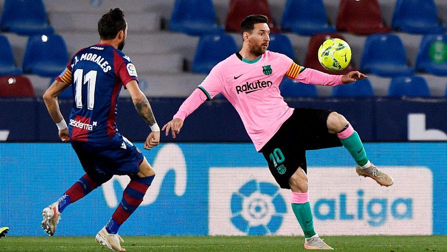 Игрок 'Барселоны' Бускетс высказался об упущенной победе в матче с 'Леванте'